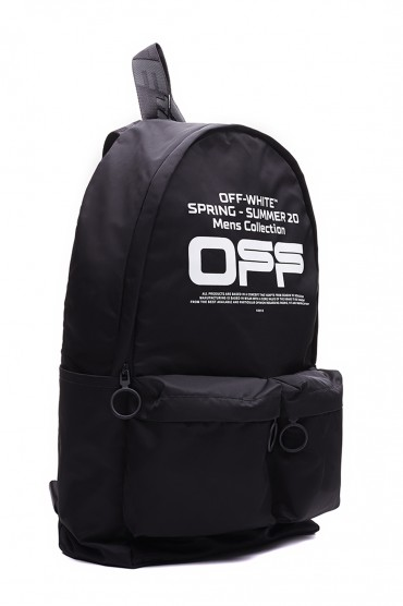 Рюкзак с логотипом OFF-WHITE OWap10011
