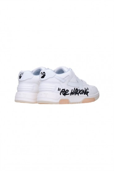 Кроссовки OUT OF OFFICE OFF-WHITE OWap11027