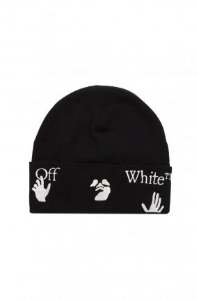 OFF-WHITE Шапка с вышивкой логотипа