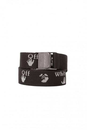 Текстильный ремень с логотипом OFF-WHITE OWap20015