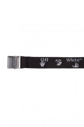 OFF-WHITE Текстильный ремень с логотипом