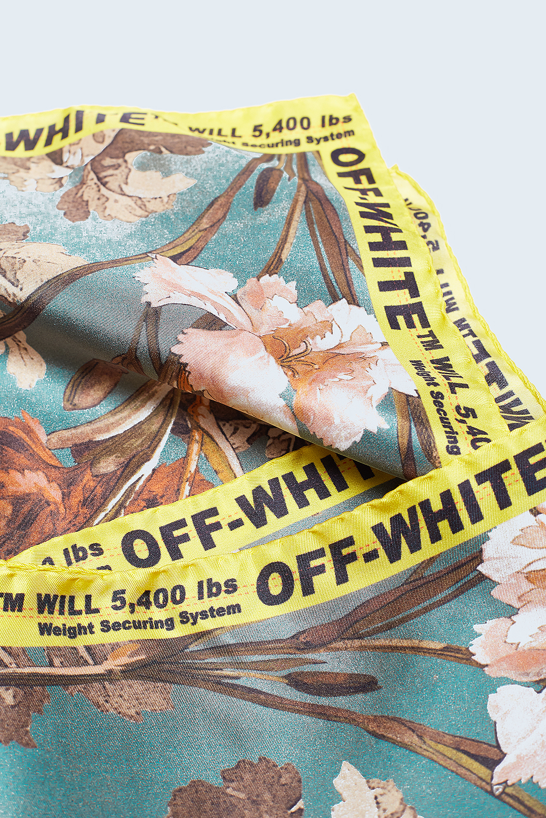 Платок с принтом OFF-WHITE OWap29023