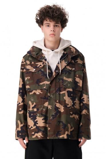Куртка c camo-принтом OFF-WHITE OWm11014