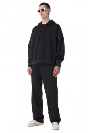 OFF-WHITE Удлиненные брюки с эластичным поясом