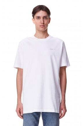 OFF-WHITE Футболка oversize с логотипом