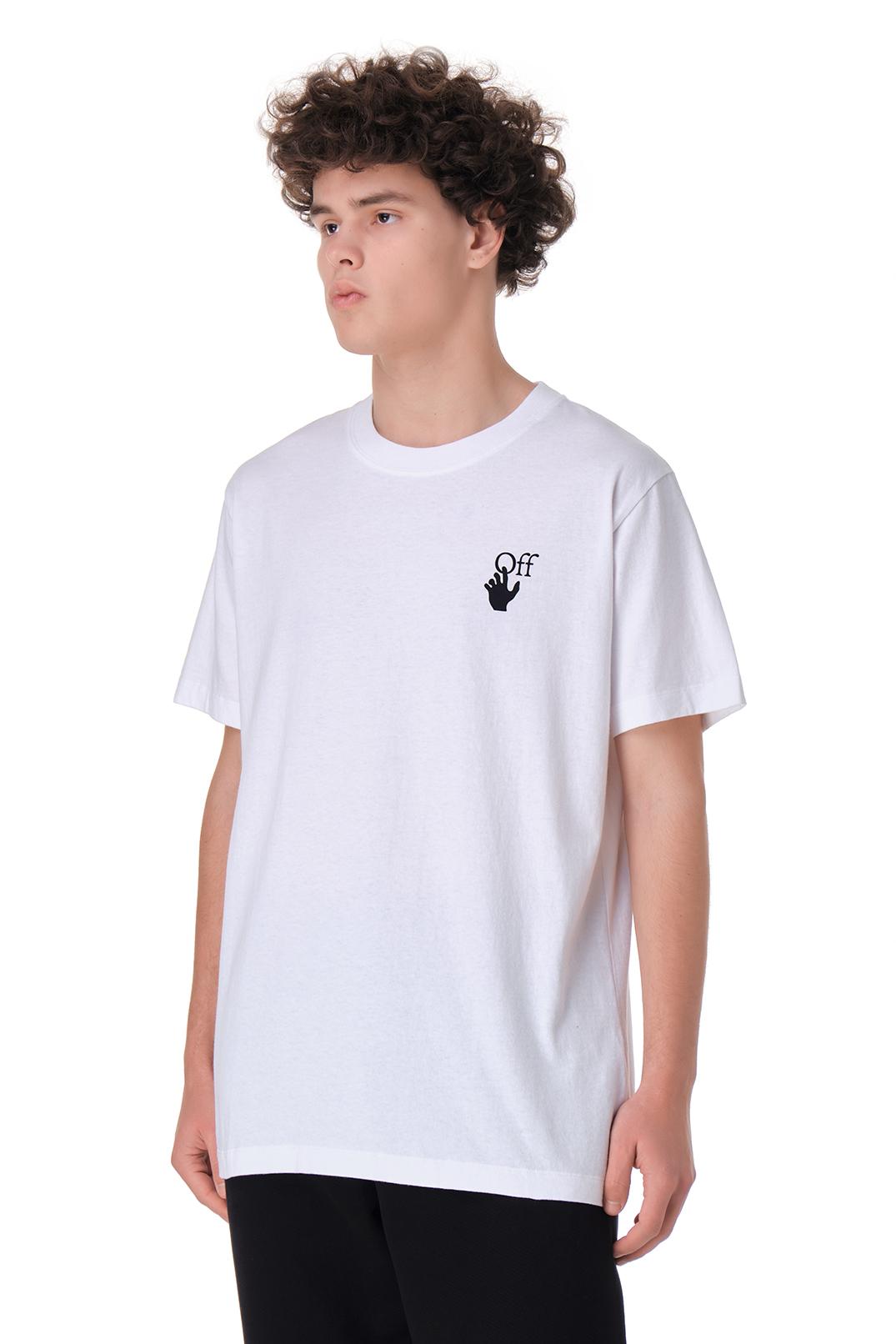 Футболка oversize с принтом OFF-WHITE OWmp11003