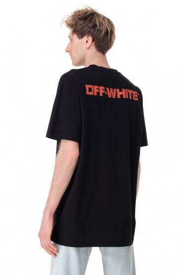 Футболка oversize с принтом OFF-WHITE OWmp11007