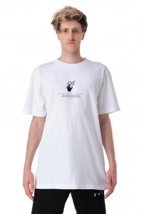 OFF-WHITE Футболка oversize с принтом