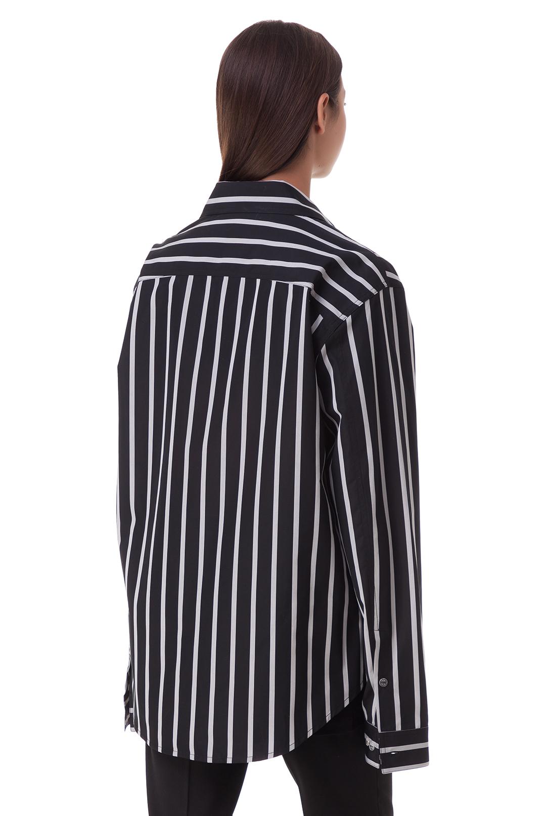 Рубашка в полоску OFF-WHITE OWmp20012