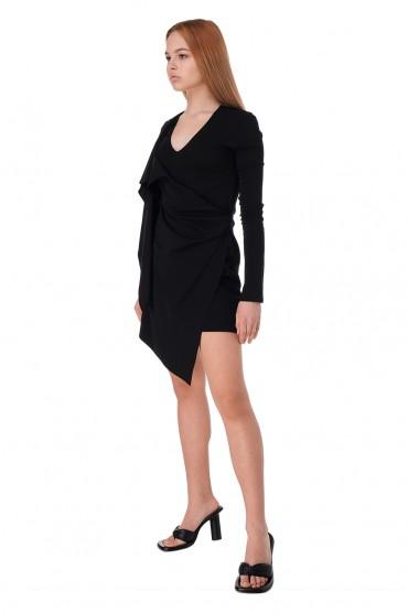 Асимметричное платье OFF-WHITE OWw11015