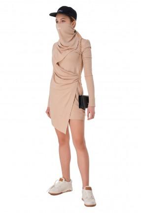 OFF-WHITE Асимметричное платье