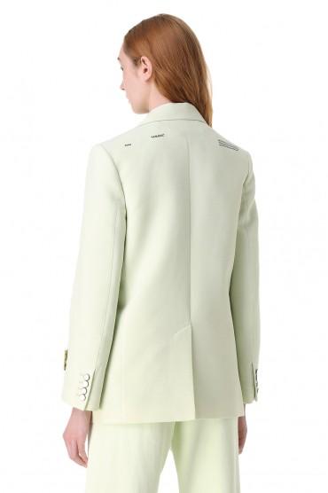 Пиджак с принтом OFF-WHITE OWw11020