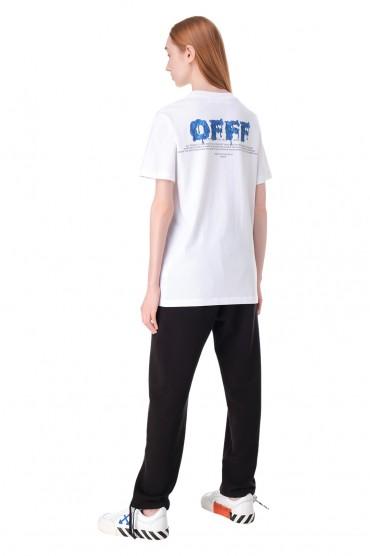 Футболка oversize с принтом OFF-WHITE OWw11026
