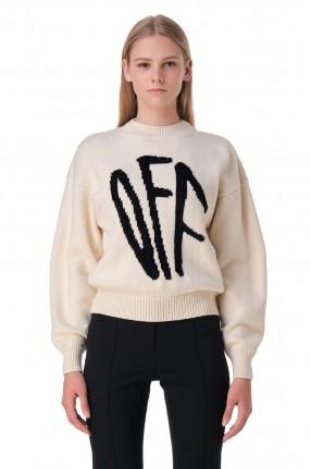 OFF-WHITE Свитер с логотипом