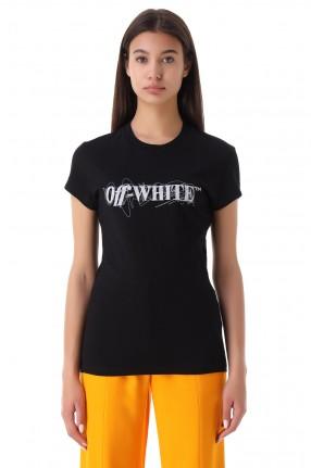 OFF-WHITE Футболка с логотипом