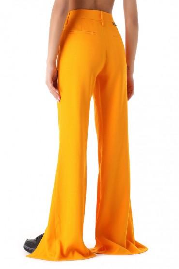 Удлиненные брюки с разрезами OFF-WHITE OWw21035