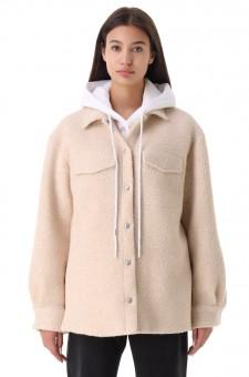 Куртка-рубашка oversize