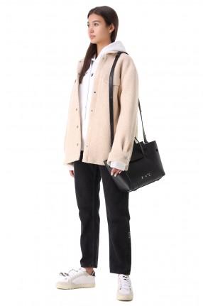 OFF-WHITE Куртка-рубашка oversize