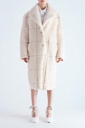 OFF-WHITE Меховое пальто