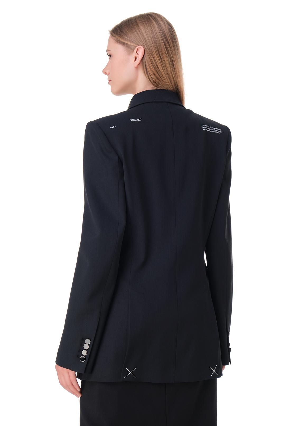 Двубортный пиджак OFF-WHITE OWwp20027