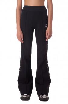 Удлиненные брюки клеш