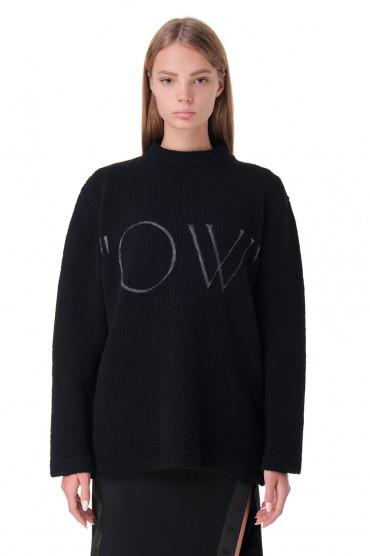 Свитер oversize OFF-WHITE OWwp20050