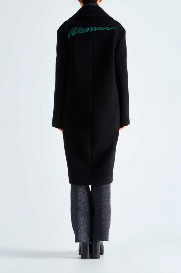 Пальто oversize OFF-WHITE OWwp29018