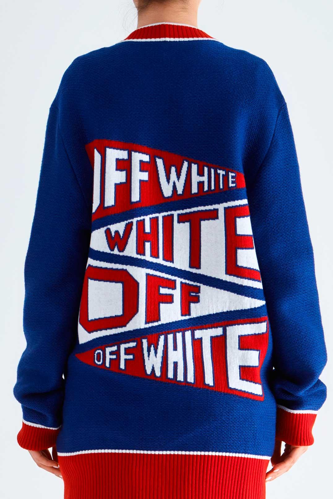 Кардиган oversize OFF-WHITE OWwp29022