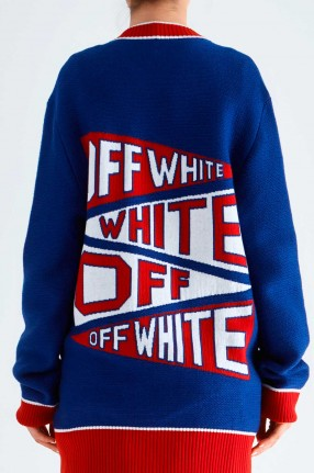 OFF-WHITE Кардиган oversize