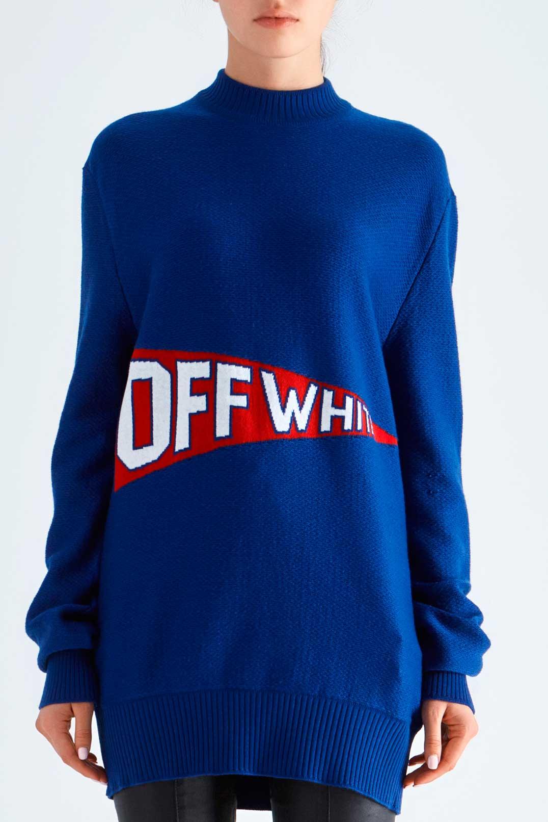 Свитер oversize OFF-WHITE OWwp29024