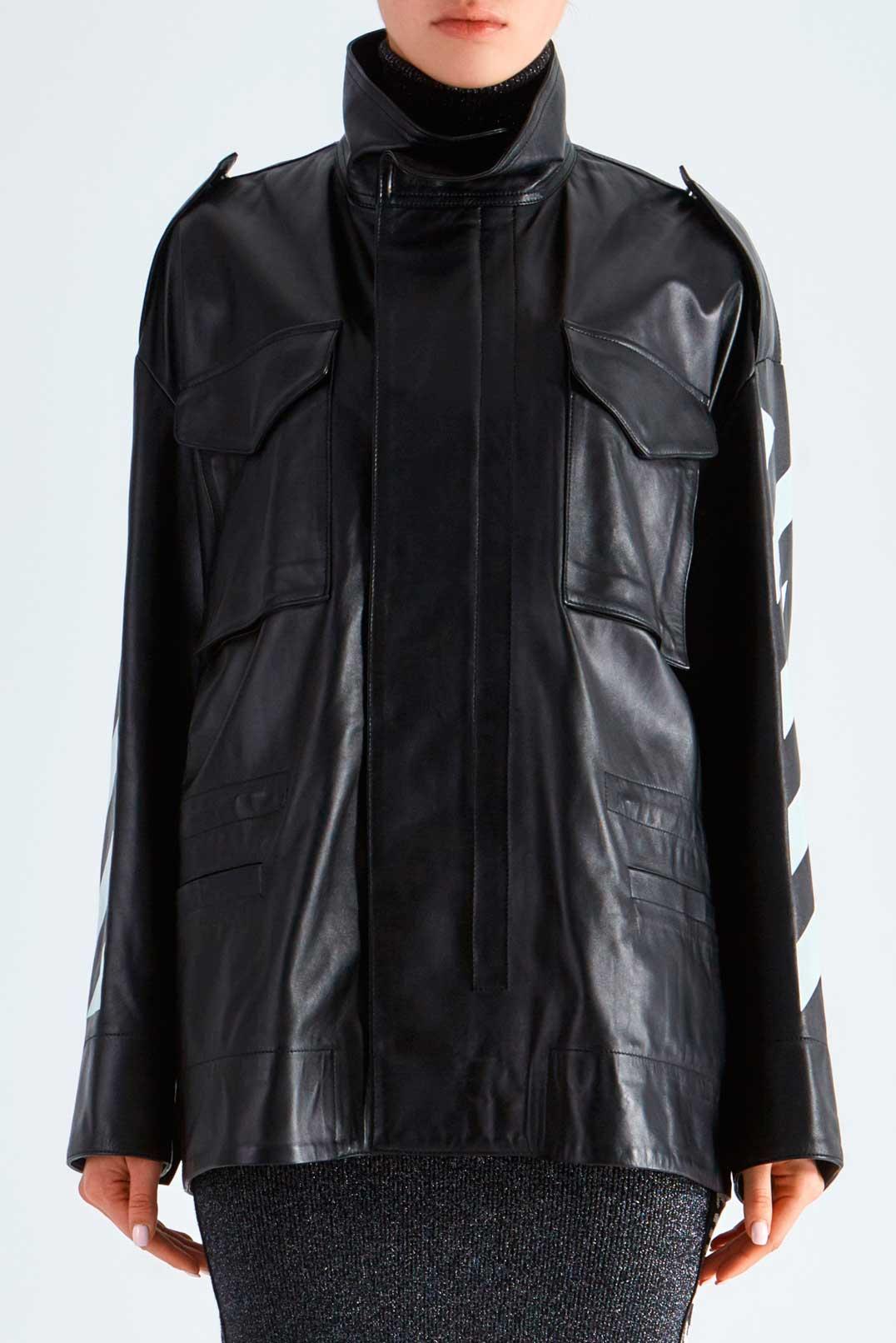 Кожаная куртка OFF-WHITE OWwp29030