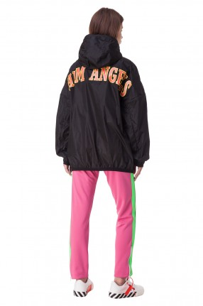 PALM ANGELS Куртка oversize c капюшоном