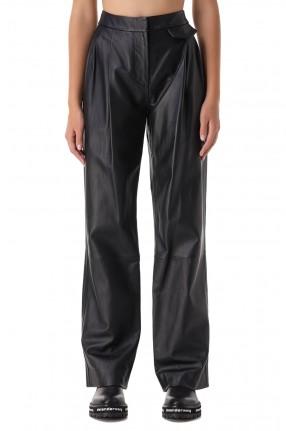 3.1. PHILLIP LIM Кожаные брюки