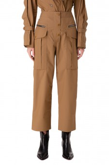 Укороченные брюки карго