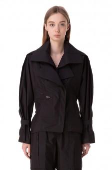 Куртка со съемным воротником