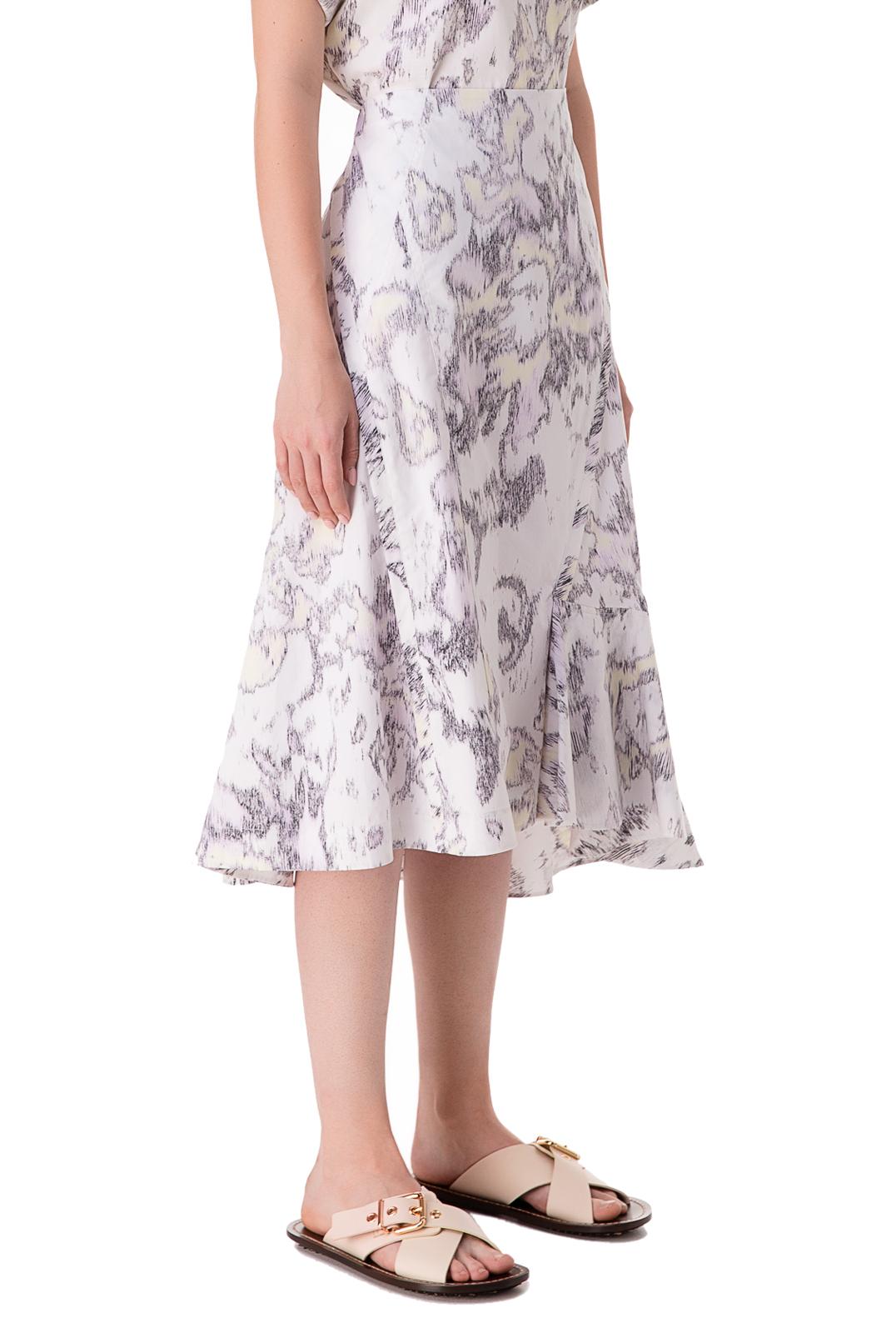 Асимметричная юбка с принтом 3.1. PHILLIP LIM PHLp10012