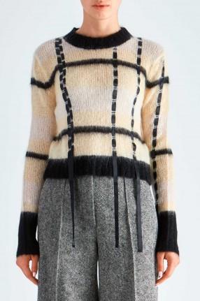 3.1. PHILLIP LIM Укороченный свитер
