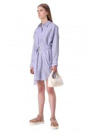 3.1. PHILLIP LIM Платье-рубашка в полоску
