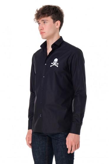 Рубашка с логотипом PHILIPP PLEIN PHP20008