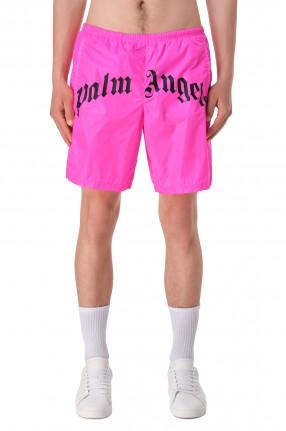 PALM ANGELS Плавательные шорты с логотипами