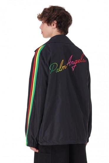 Куртка oversize c логотипом PALM ANGELS PLMm11030
