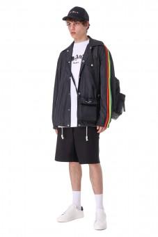 Куртка oversize c логотипом от