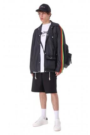 PALM ANGELS Куртка oversize c логотипом