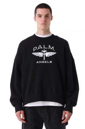 PALM ANGELS Свитшот oversize c логотипом
