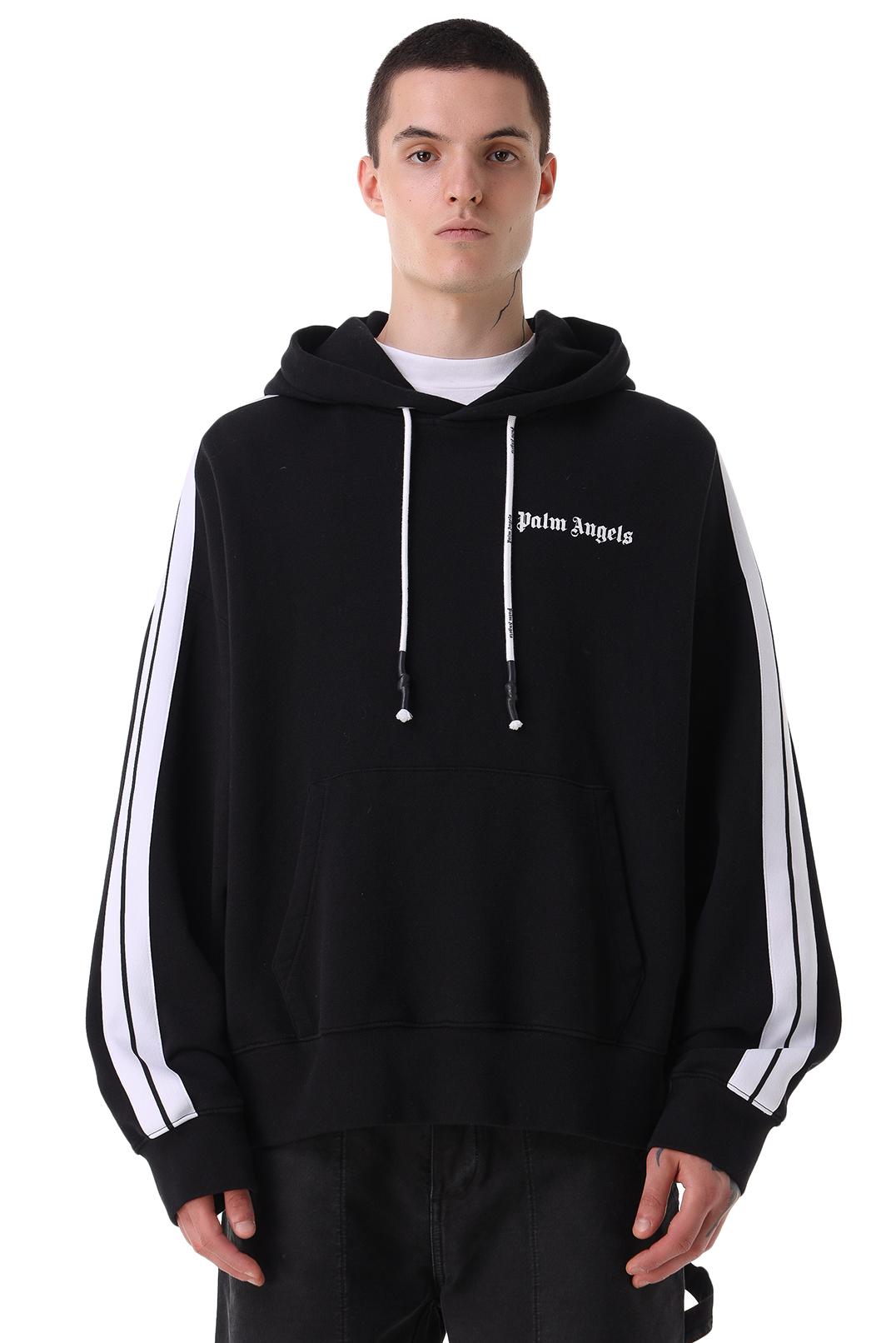 Худи oversize с логотипом PALM ANGELS PLMm21013
