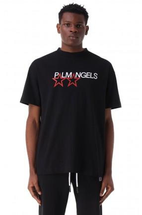 PALM ANGELS Футболка oversize с логотипом