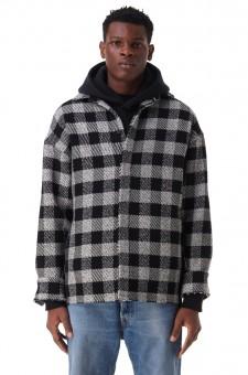 Куртка-рубашка oversize в клетку