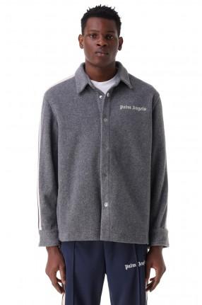 PALM ANGELS Куртка-рубашка с логотипом