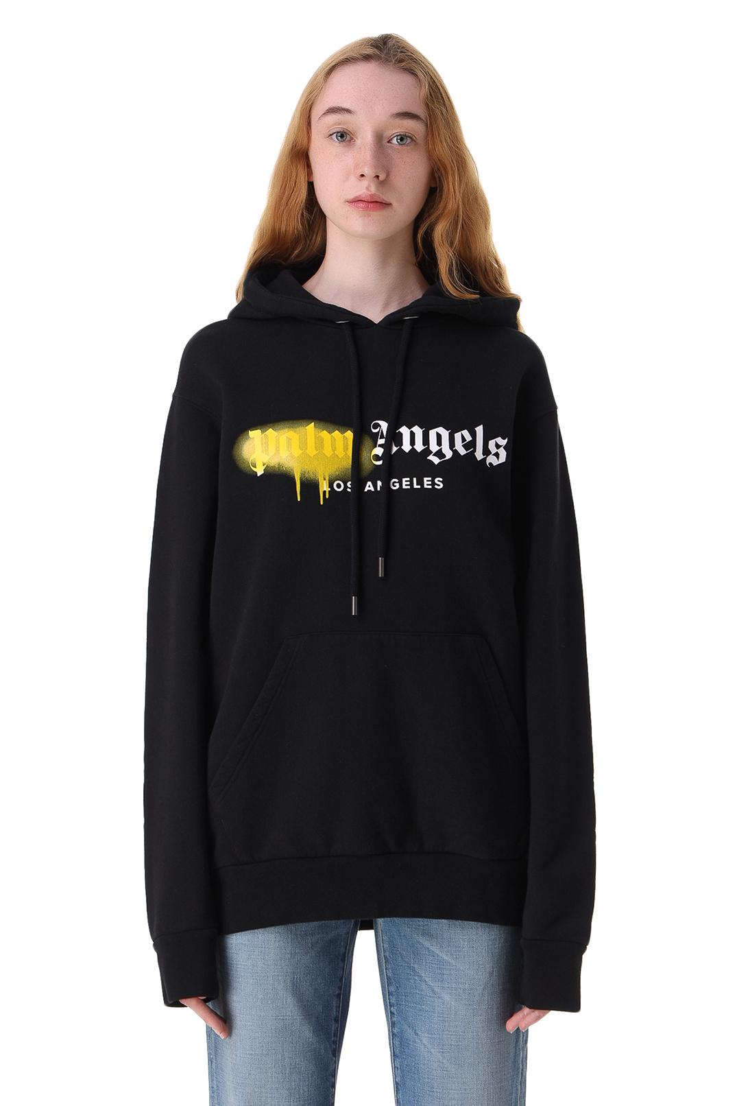 Худи с логотипом PALM ANGELS PLMw11026