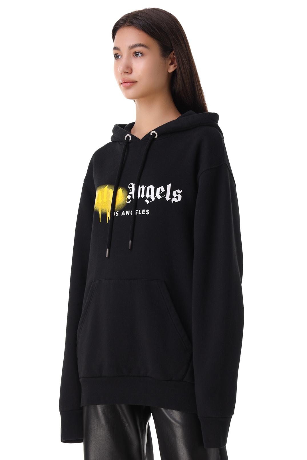 Худи oversize с логотипом PALM ANGELS PLMw21001